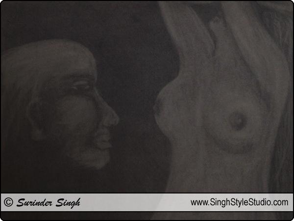 Dessin figuratif, Delhi, India